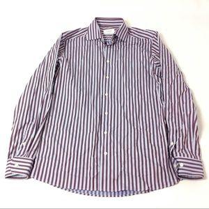 ETON Mens Dress Shirt Contemporary Fit Size 41/16